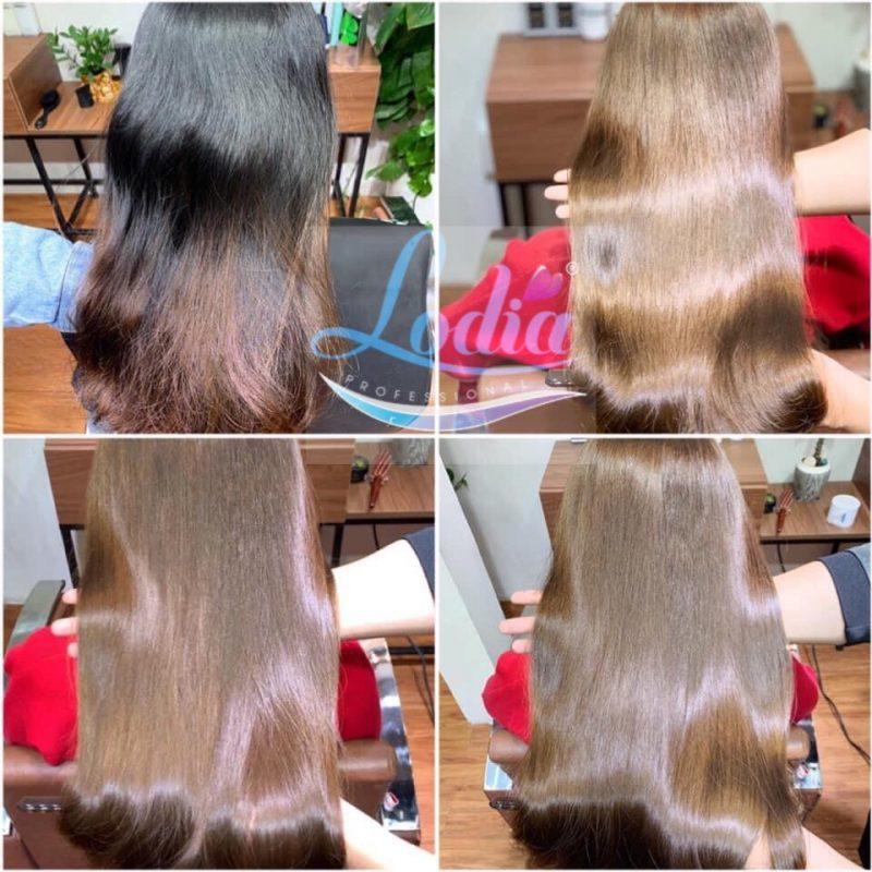 Xịt dưỡng tóc Romacy - Chăm sóc tóc tóc nhuộm bóng mềm bền màu