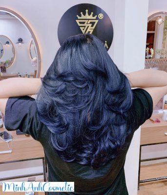 Mẹo nhỏ cho cô nàng muốn nhuộm tóc màu xanh đen
