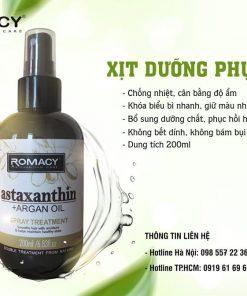 Xịt dưỡng phục hồi tóc Romacy - Chăm sóc tóc đơn giản tại nhà